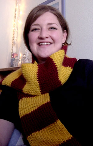 Pretending Sanity Harry Potter Scarf