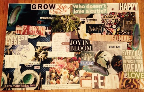 dream board 2014